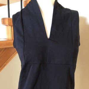 Preview International Black sleeveless Top sz M